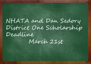 Scholarship Dealine March 21